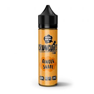 Crunchies E-Liquid – Ginger Snap  – 50ml Shortfill