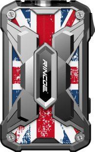 Rincoe Mechman 228w Mod [SW UK Flag Silver]