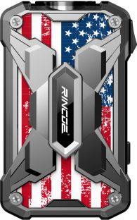 Rincoe Mechman 228w Mod [SW US Flag Silver]