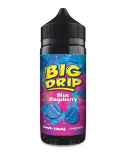 Doozy Vape – Big Drip – 100ml – Blue Raspberry