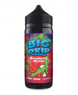 Doozy Vape – Big Drip – 100ml – Raspberry Mojito